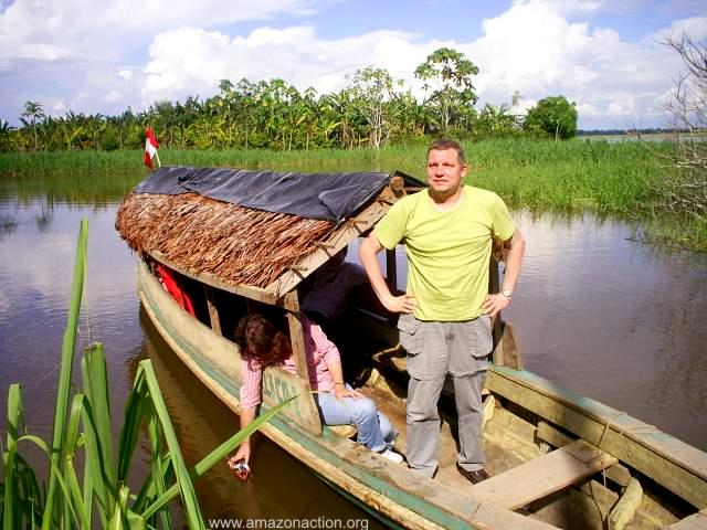 Marco Schneider, ein Deutscher mit amazonischem Herzen