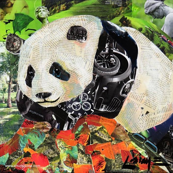 Panda Gemälde