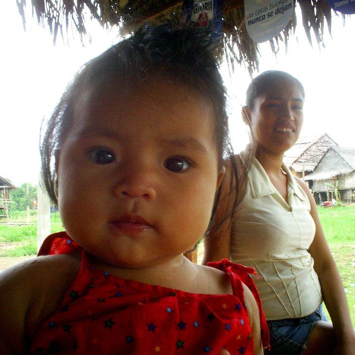 Amazonas-Baby
