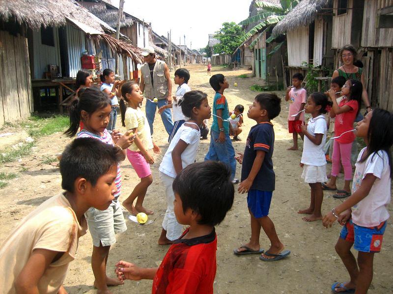 Miguel Olimar und die Kinder