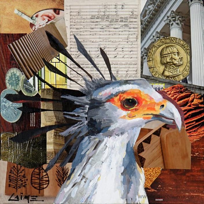 Sekretär Vogel Gemälde