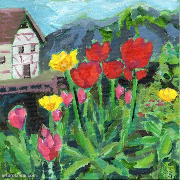 Frau Grimms Blumen