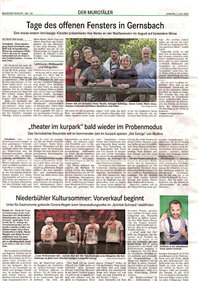 Arturo Laime im Gernsbacher Stadtanzeiger01