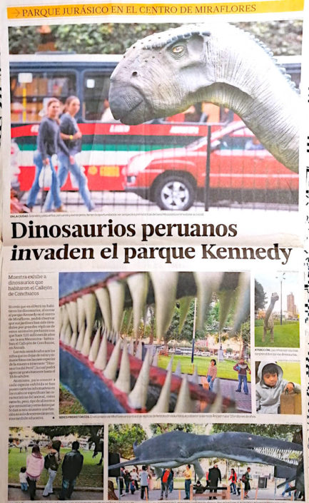 Arturo Laime im El Comercio 18092011