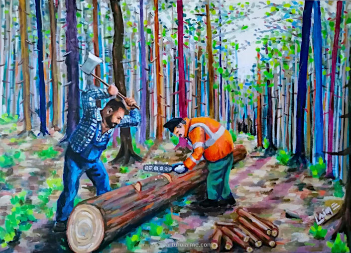 Die Holzfaeller